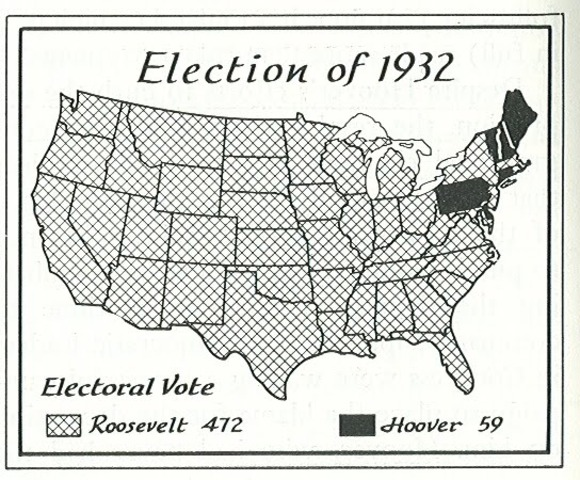 Election of 1932- African Americans Vote Democratic