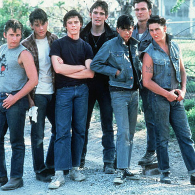 """The Main Events of """"The Outsiders"""" made by S.E. Hinton timeline"""