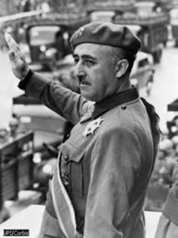 Francisco Franco became Dicator