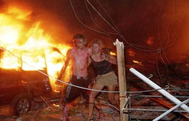 Terrorist bombs in Bali