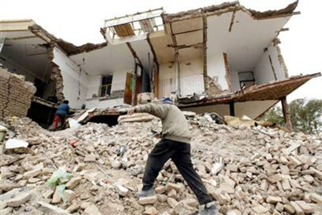 Iran Earthquake; 20,000 dead
