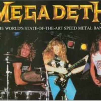 Megadeth Timeline