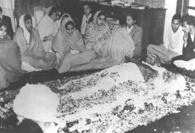 Gandhi is Killed
