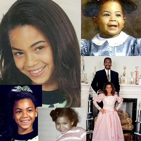 Beyonce was born