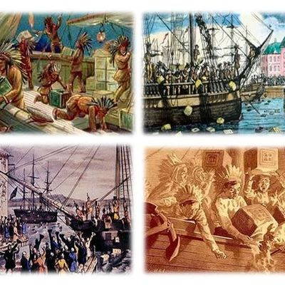 Timeline of Events of the Boston Tea Party