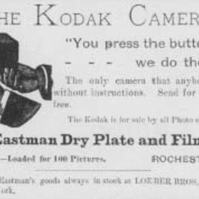 Hitos en la historia de Kodak timeline