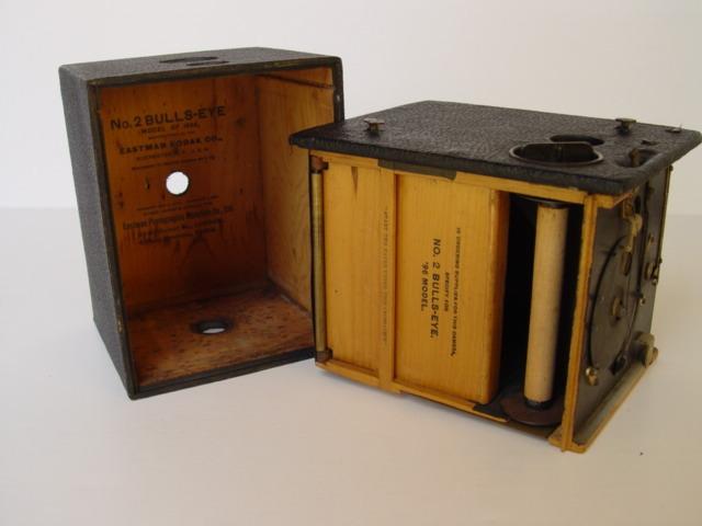 Interior de la primera Kodak