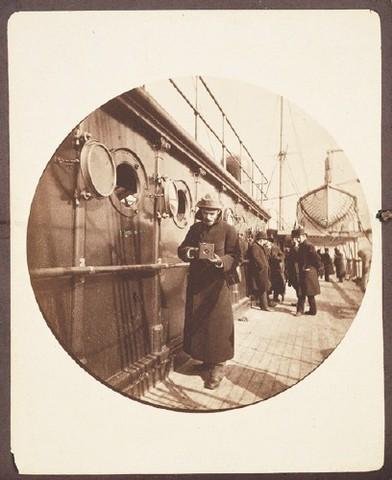Una de las pocas fotos conocidas de George Eastman, fundador de Kodak