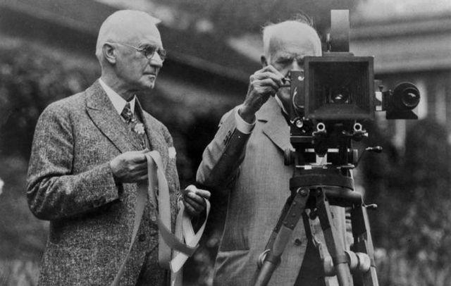 Eastman y Edison muestran sus inventos