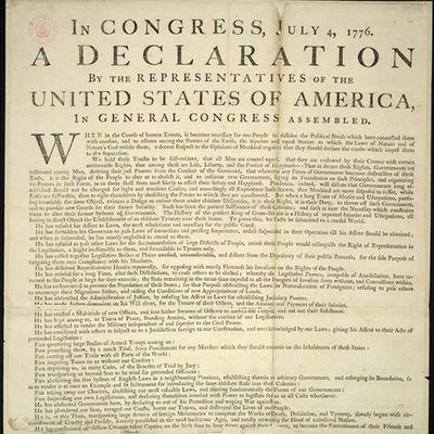 American Revolution by Paul T. Gaston timeline