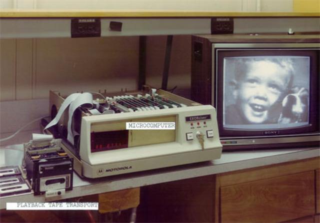 Así se veían las fotos de la primer cámara digital
