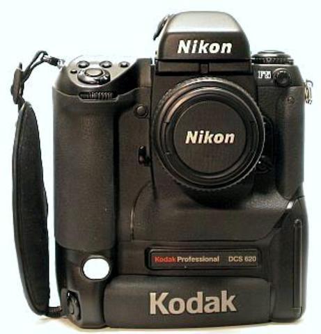 Primer cámara digital profesional, también lanzada por Kodak