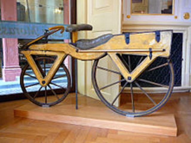 Tο πρώτο ποδήλατο