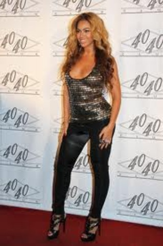 Beyonce was on the red carpet