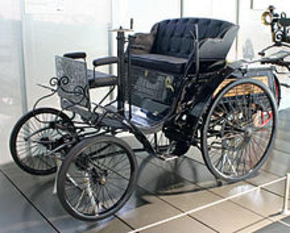 Το πρώτο αυτοκίνητο!