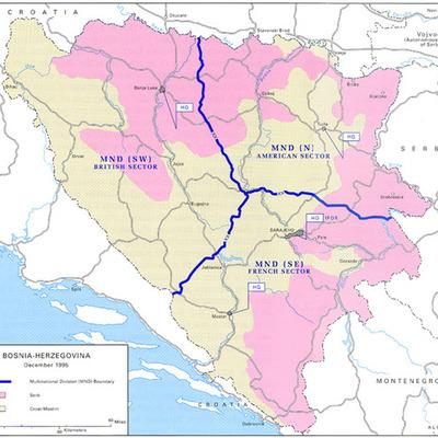 Intervension in Bosnia-Herzegovina timeline
