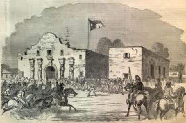 Texas Revolution Timeline | Timetoast timelines