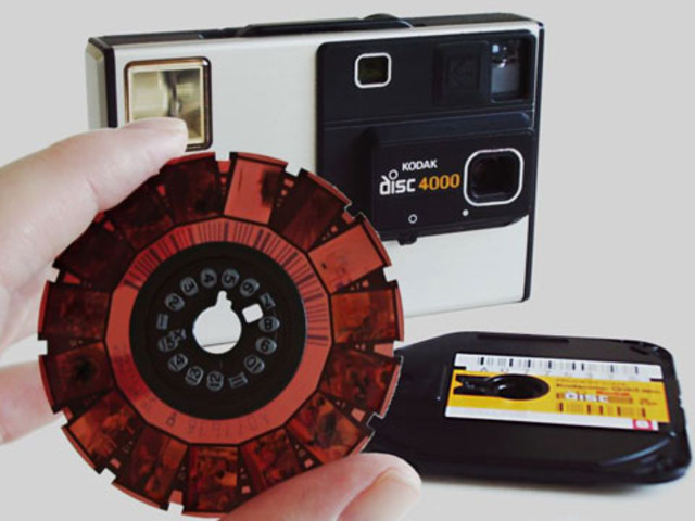 La Kodak Disc 4000 fue lanzada en 1982