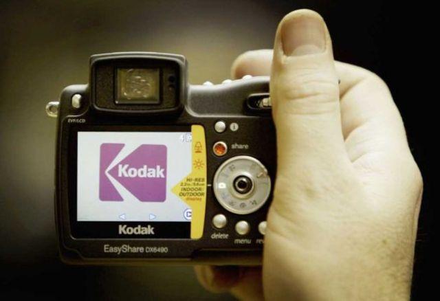 Lanzamiento de una de las cámaras digitales Kodak Easyshare