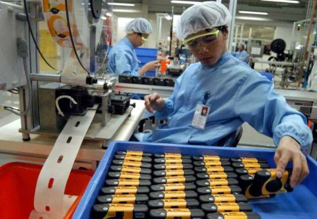 Fábrica cámaras Kodak descartables en Shangai, China