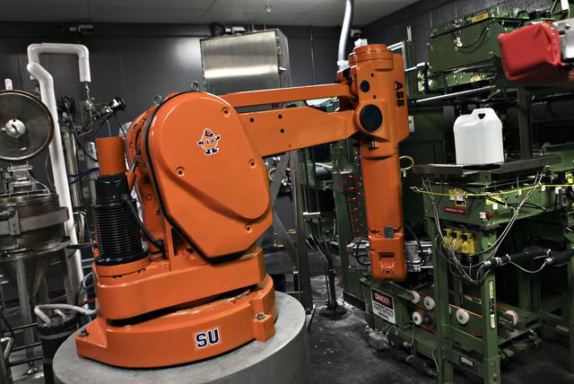 Un robot fabrica films en Rochester