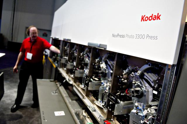 Impresora Kodak en la feria Tech Las Vegas