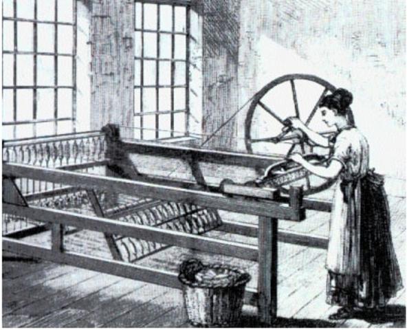 Η πρώτη κλωστική μηχανή
