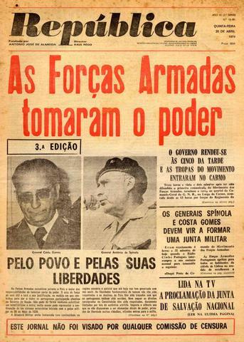 """Fundação do jornal """"A República"""""""