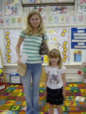 K's 1st day of school (personal)