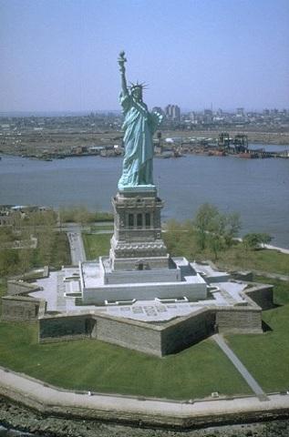 Εγκαίνια του Αγάλματος της Ελευθερίας