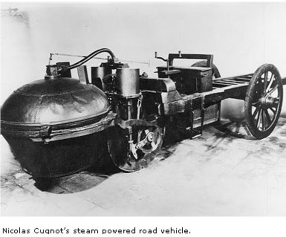 the history of the first self powered road vehicle History edit alligator tug the first known self-propelled amphibious vehicle an amphibious cycle is a human-powered vehicle capable of operation on both.