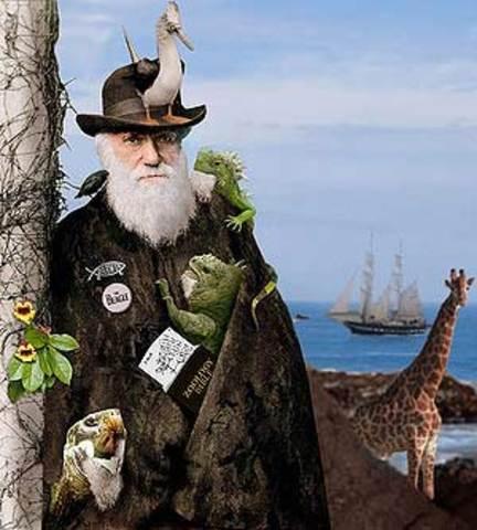 Muerte de Charles Darwin