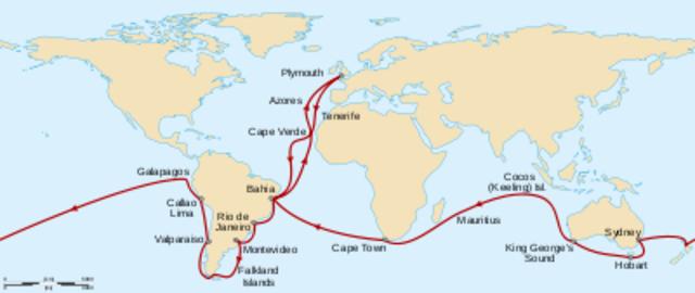 Emprende un viaje de exploracion a bordo del H.M.S Beagle
