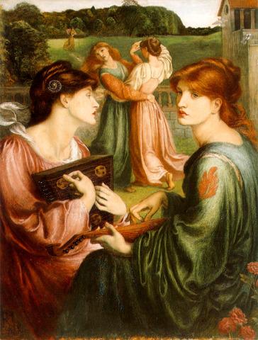 The Pre- Raphaelites emerged