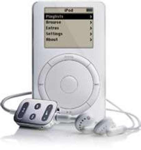 Apple created 1st ipod