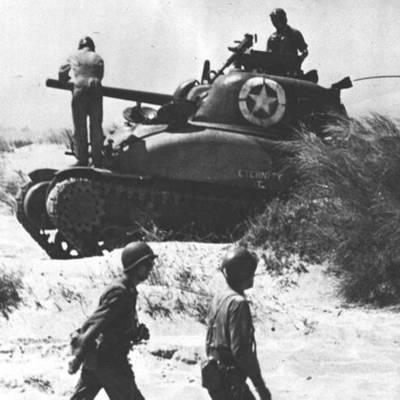 THe War for Europe & North Africa timeline