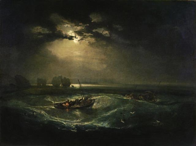 Fishermen at Sea, JMW Turner