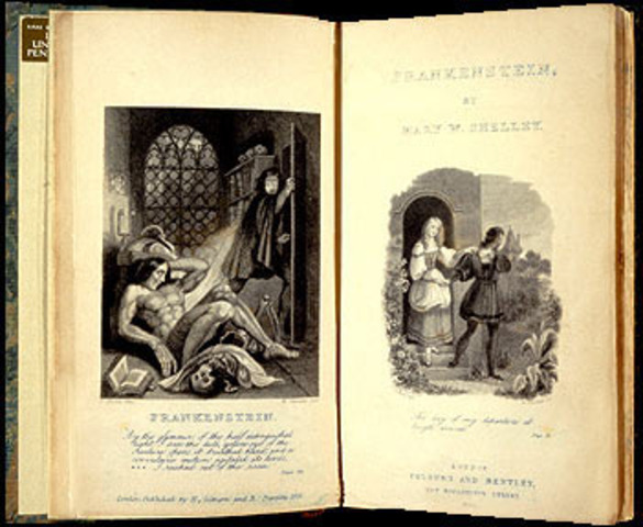 mary shelleys frankenstein as an example of the romantic movement Greg duncan mary shelley's frankenstein is an early product of the modern western world written during the romantic movement of the early 19th century, the book provides insight into issues that are pertinent today.
