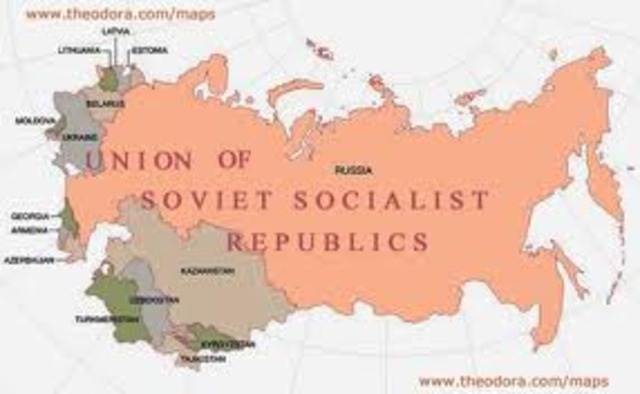 The Fall of the USSR timeline | Timetoast timelines