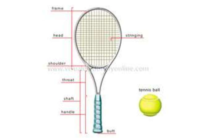 Fabulous Tennis Racquet Diagram Basic Electronics Wiring Diagram Wiring Cloud Intapioscosaoduqqnet
