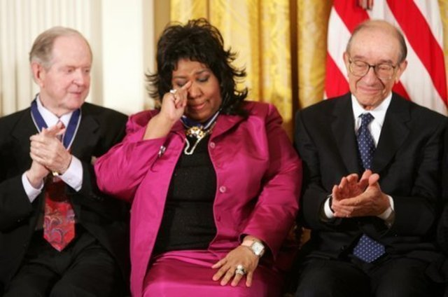 Aretha Franklin is Awarded the Presidential Medal of Freedom