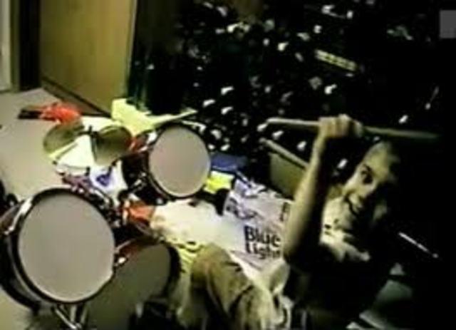 Su primera batería