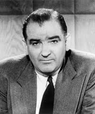 6.Joe McCarthy, the US Senator, gains national attention.