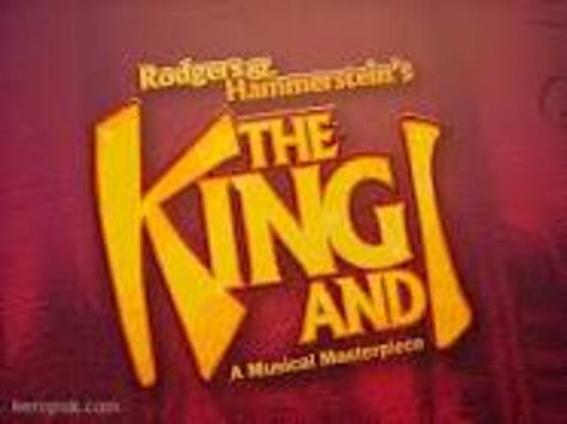 The King and I, musical, opens on Broadway on March 29.1951