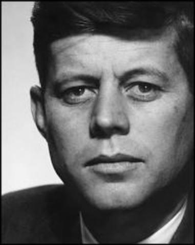 9.JFK blown away: President John F. Kennedy is assassinated on November 22.