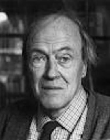 Roald Dahl Dies