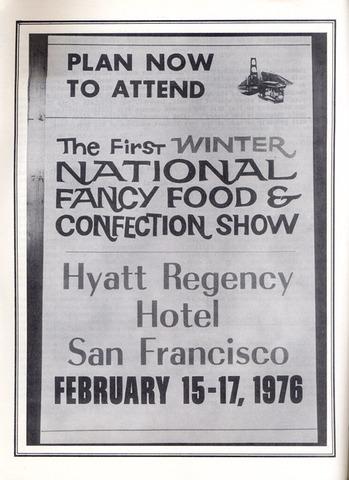New Yorek Time Fancy Food Show San Franciscoc