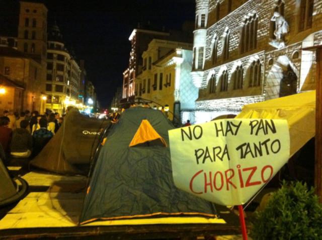 #acampadasol (Sol camp)
