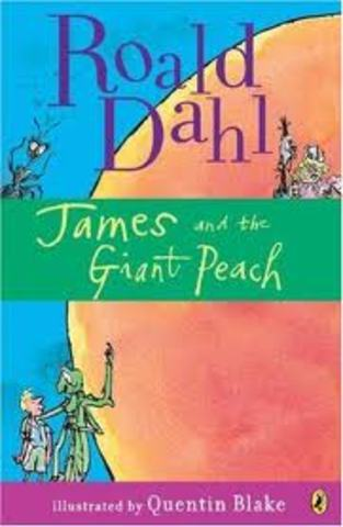 James and the Giant Peach is published