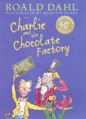 Charlie and the Chocolate Factory is published